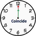 coincide