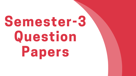 AKTU/MBA/3rd-Semester Question Papers