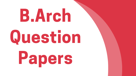 AKTU- B.Arch previous year question papers