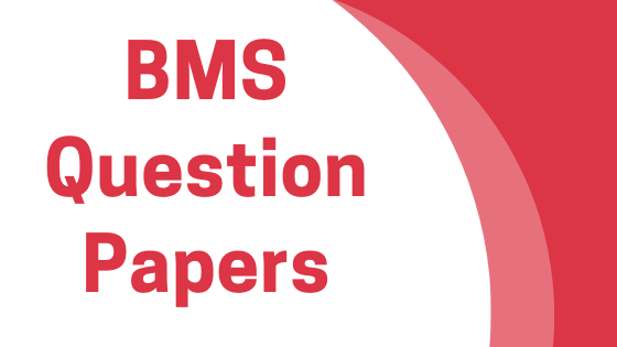 DAVV BMS Previous Year Question Papers