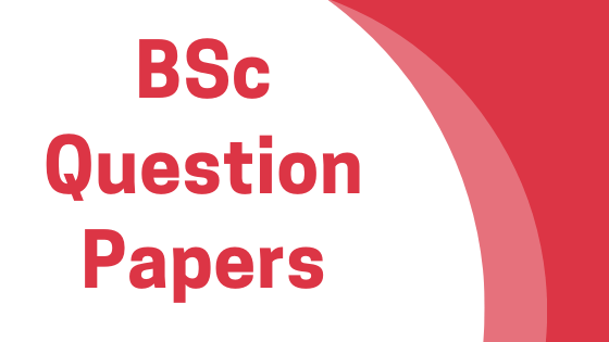 DAVV BSc Previous Year Question Papers