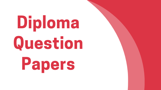 DAVV Diploma Previous Year Question Papers